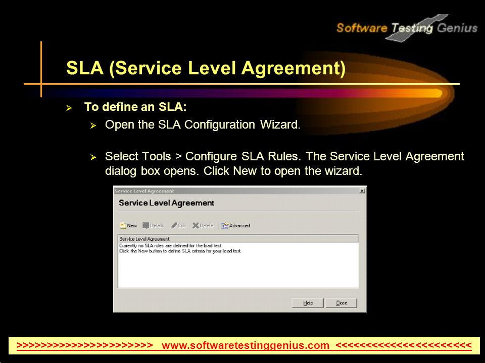 an analysis of service level agreement This service level agreement for microsoft online services (this sla) is a part of your microsoft volume licensing agreement (the agreement) capitalized terms used but not defined in this sla will have the meaning assigned to them in the agreement.