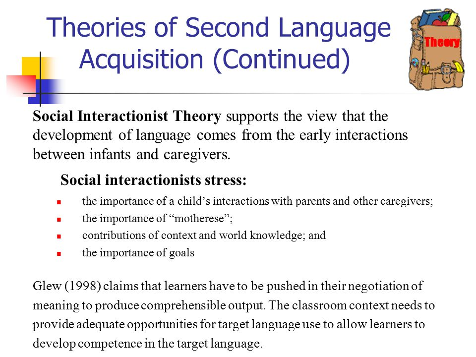 second language theories 269 calico journal, 28(2) steven l thorne and bryan smith it is in acknowledgement of just this tension, between a focus on keeping up with emerging.