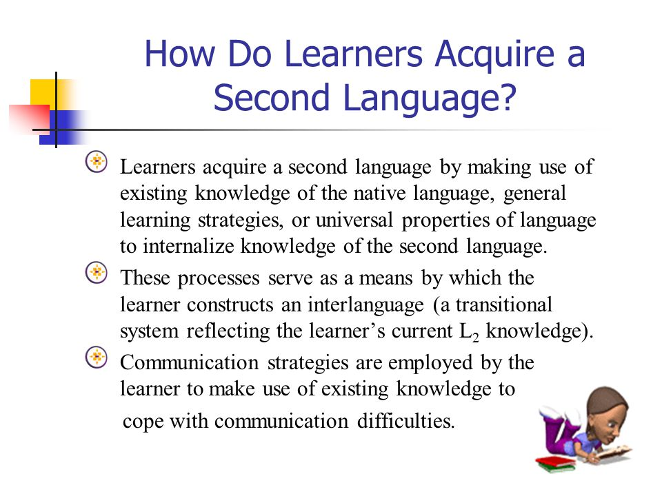 components of second language knowledge Chapter 1 key concepts of second-language acquisition learners have conscious knowledge of the new language and can talk about what they know.