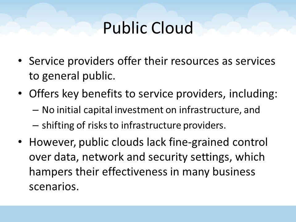 cloud computing service providers pdf
