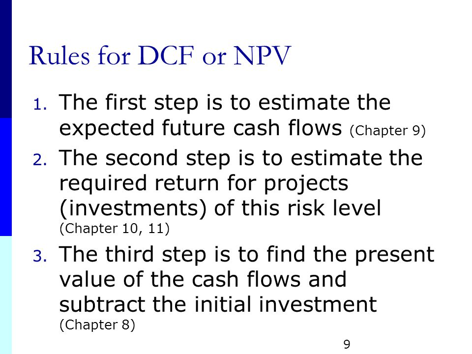 npv chapter 9 S9-1 chapter 9 net present value and other investment criteria learning objectives lo1 how to compute the net present value and why it is the best decision criterion .