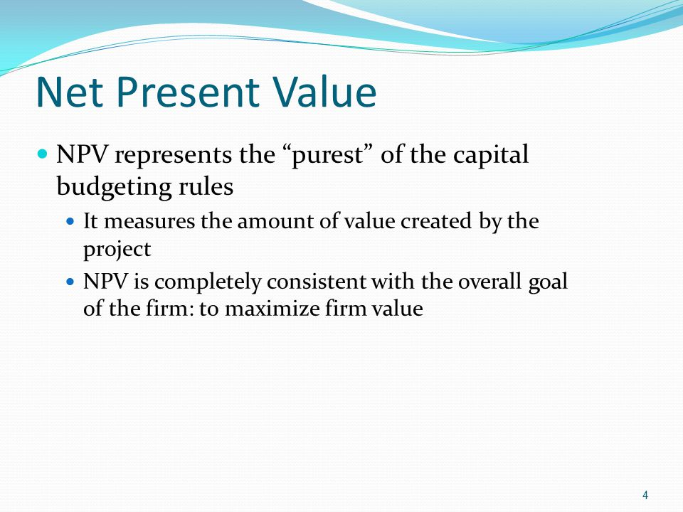 net present value and capital budgeting Cost of capital the balance sheet capital budgeting hall of fame credit report forex 401k etfs futures inflation ipos mergers online scams  net present value (npv).