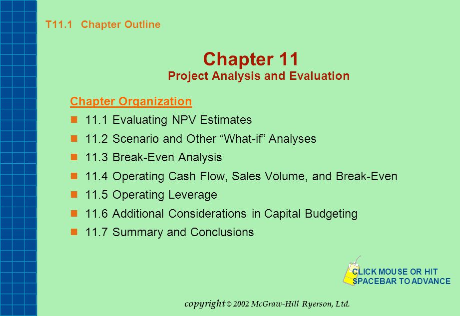 Chapter  Project Analysis And Evaluation  Ppt Download