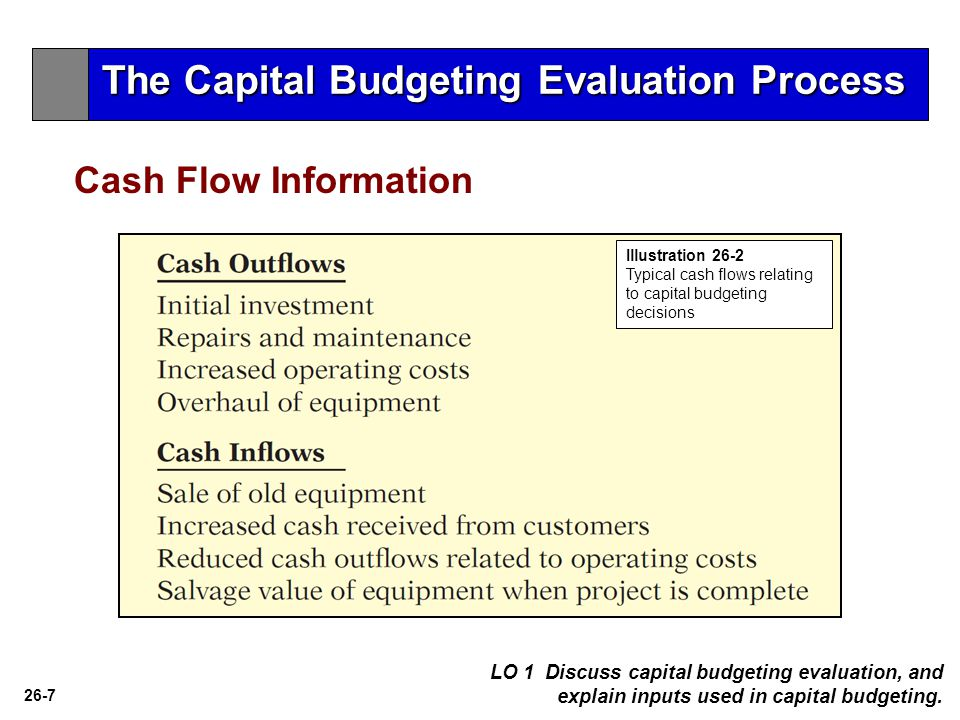 capital budgeting decision process One thing i would like to point out here is that capital budgeting is a process and not a destination this is so because of the loopy process of investment appraisal investment decision making process: because of the fact that capital investment involves the outlay of large sum of fund, care is.