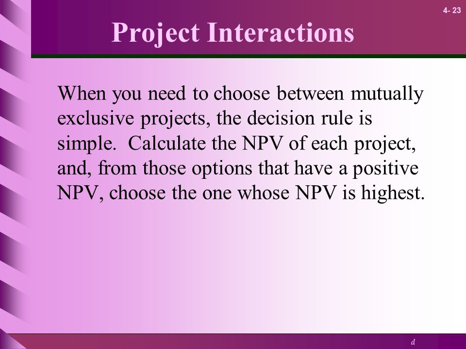 Project Interactions