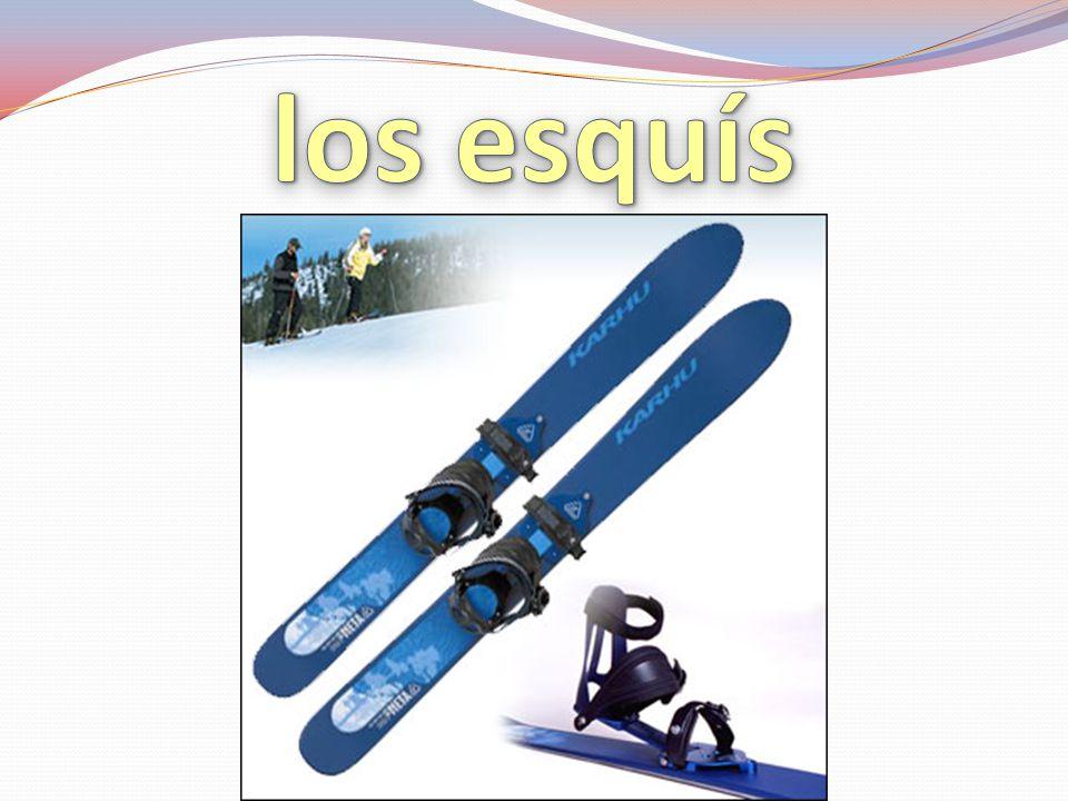 los esquís