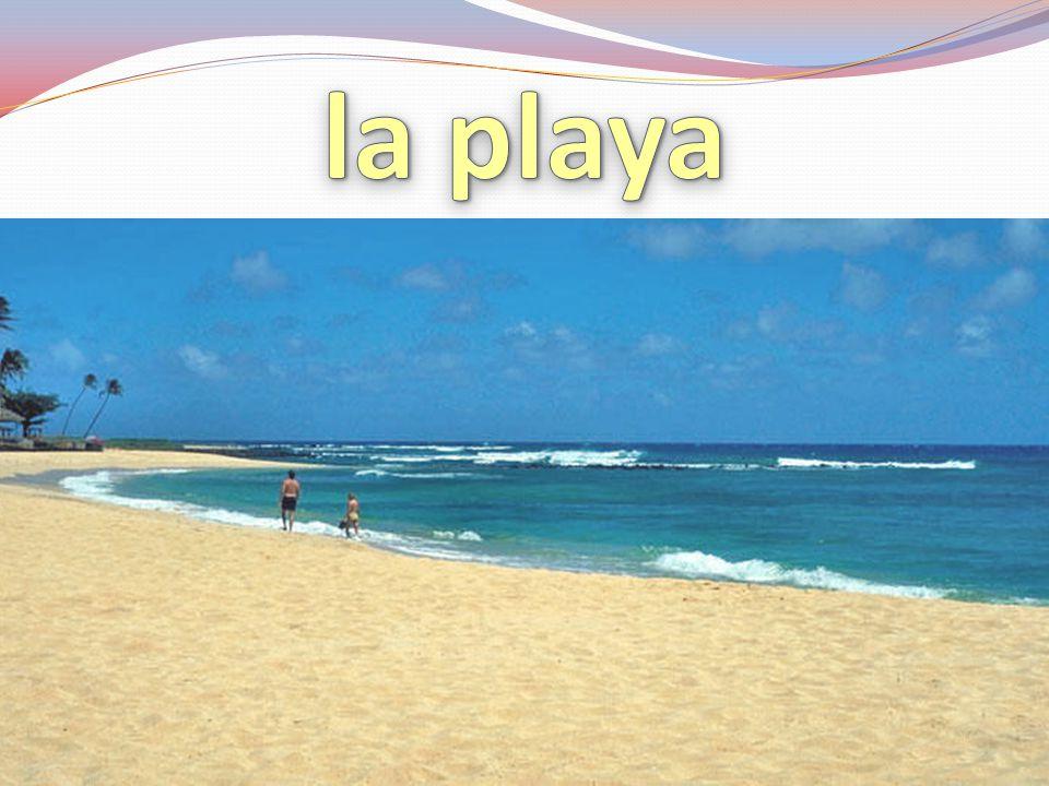 la playa