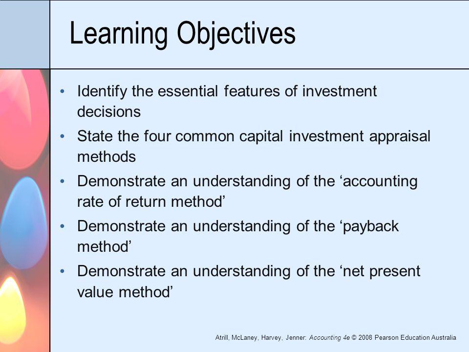 Four capital investment methods  // brotharomta ga