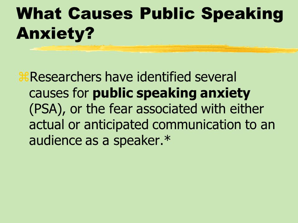 essay on public speaking anxiety Fear of public speaking is a common form of anxiety it can range from slight nervousness to paralyzing fear and panic many people with this fear avoid public.