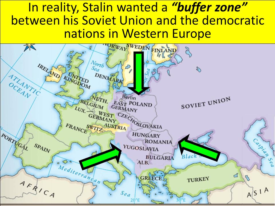 the struggles between the communist nations and democratic nations after world war ii Describe the main differences betwen the yalta and  two capitalist nations allied with a vehemently communist one already  for life after world war ii,.