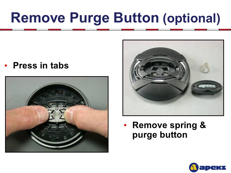Remove Purge Button (optional)