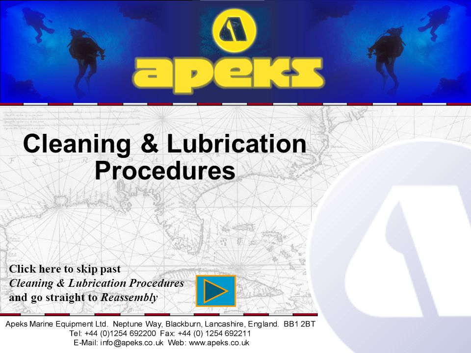 Cleaning & Lubrication Procedures