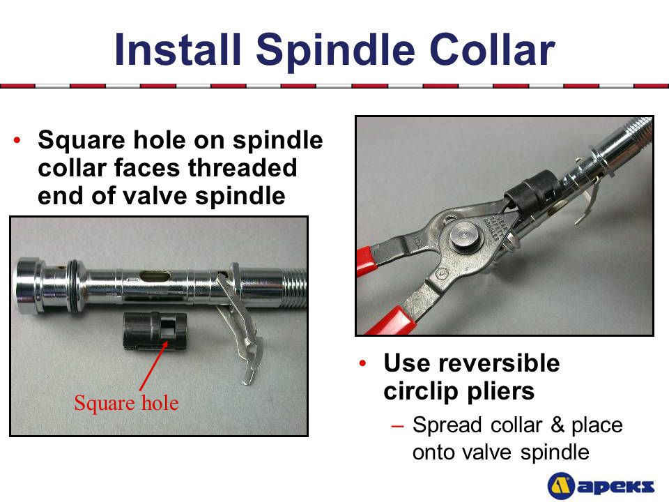 Install Spindle Collar