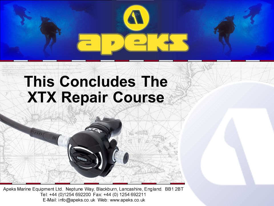 This Concludes The XTX Repair Course