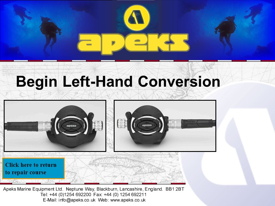 Begin Left-Hand Conversion