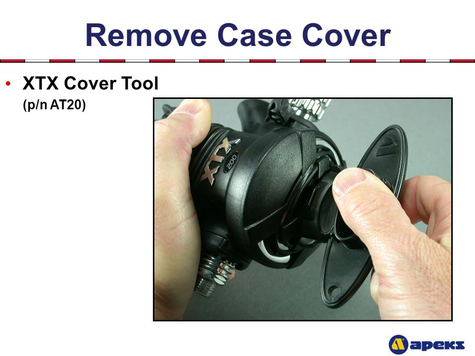 Remove Case Cover XTX Cover Tool (p/n AT20)