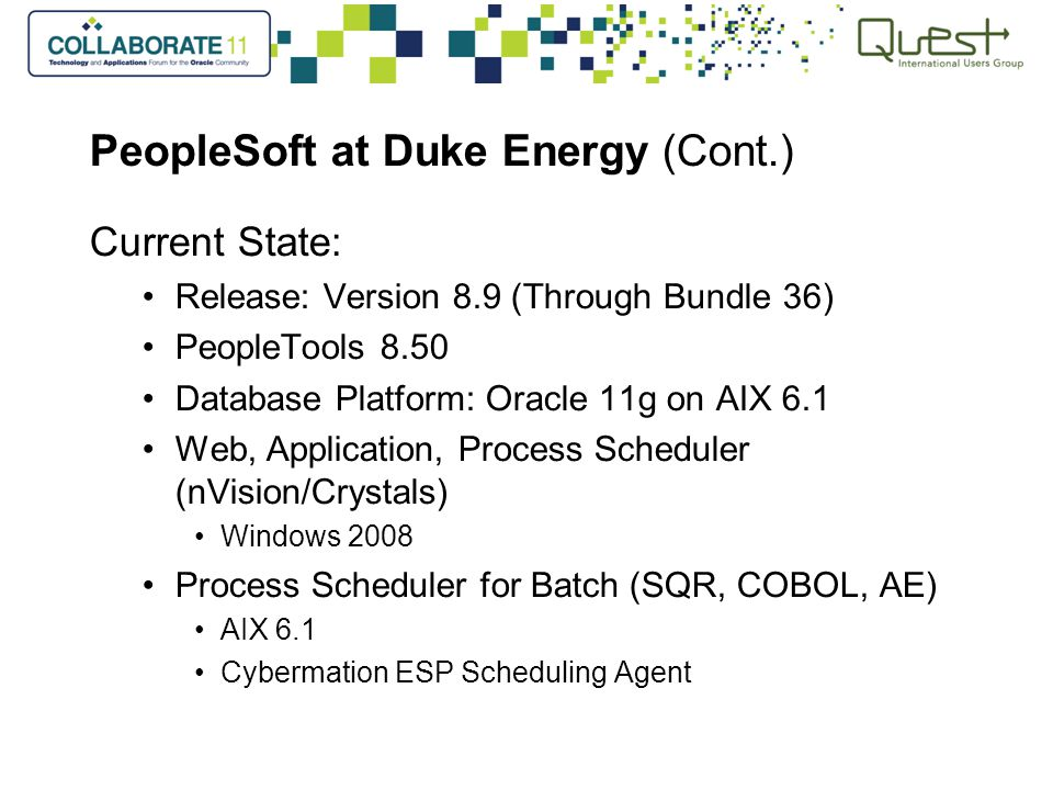 PeopleSoft Financial Gateway Duke Energys Story ppt download – Nvision Peoplesoft