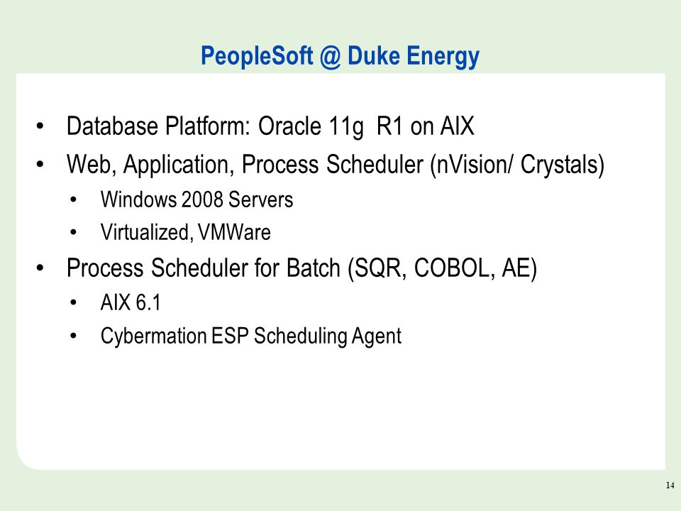 PeopleSoft Application Upgrades ppt download – Nvision Peoplesoft