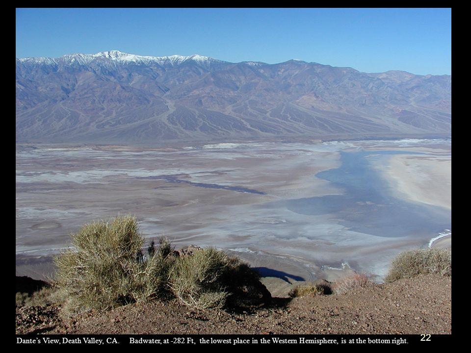Dante's View, Death Valley, CA