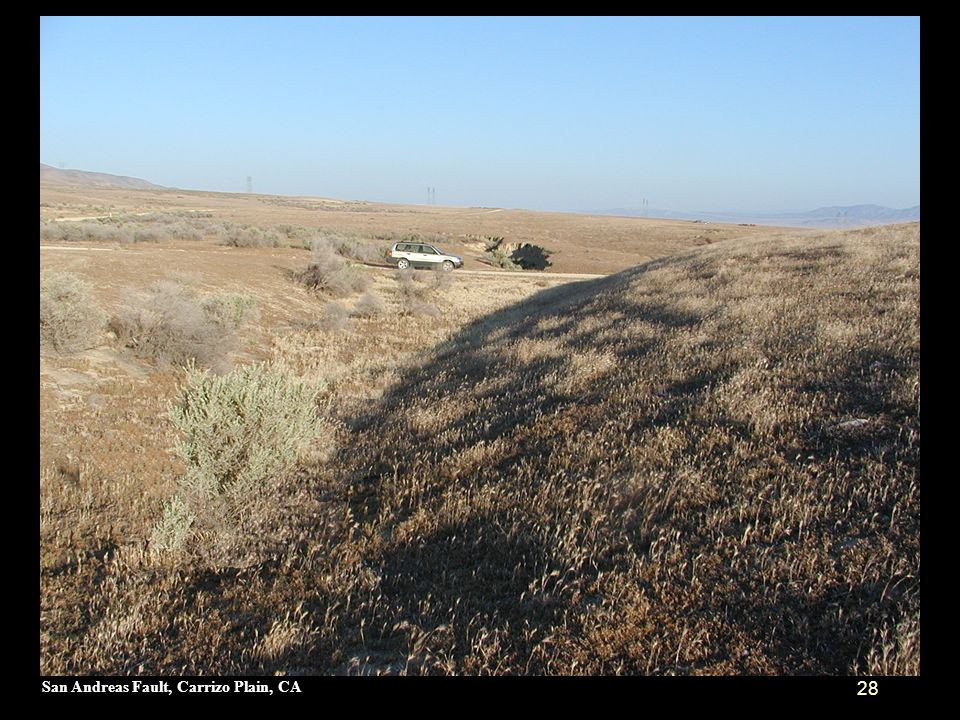 San Andreas Fault, Carrizo Plain, CA