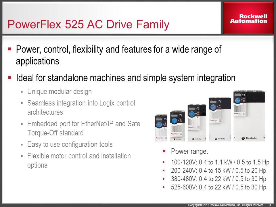 powerflex 4m ac drive powerflex 525 ac drive