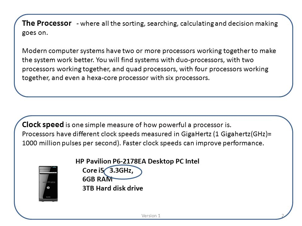 HP Notebook PCs - Determining the Processor Speed in ...