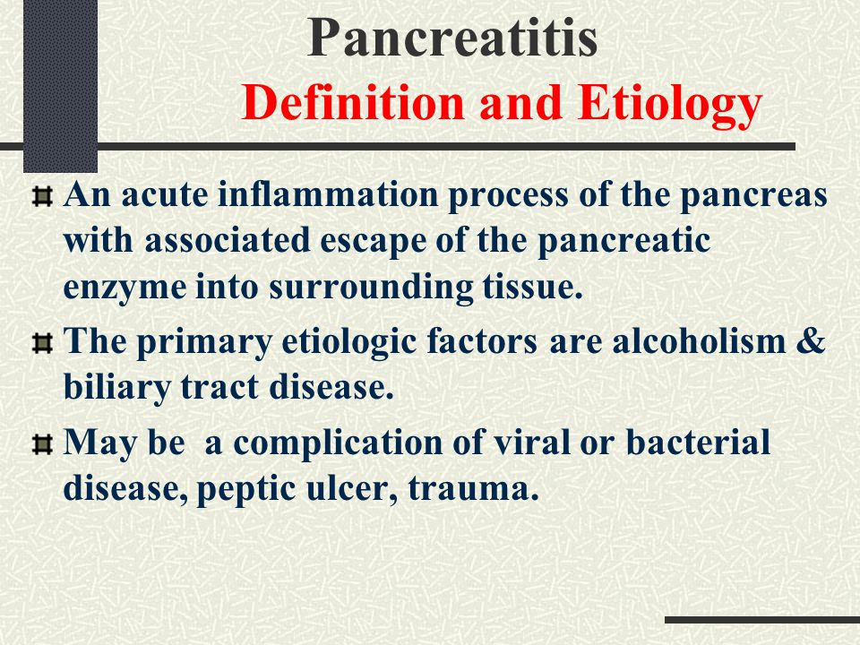 pancreatitis definition and etiology - ppt video online download, Human Body