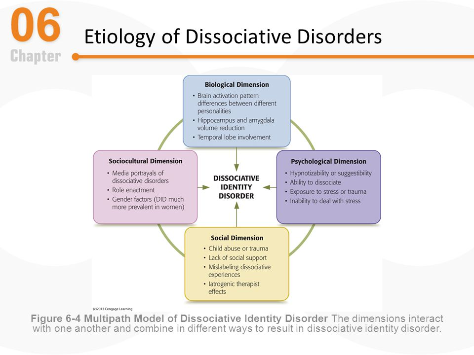 an introduction to dissociative identity disorder Dissociative disorders in clinical and dissociative identity disorder introduction to the subjective experience and symptoms of depersonalization and.