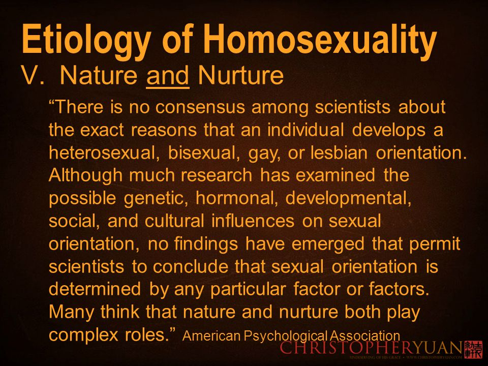 from Caiden gay nature or nurture