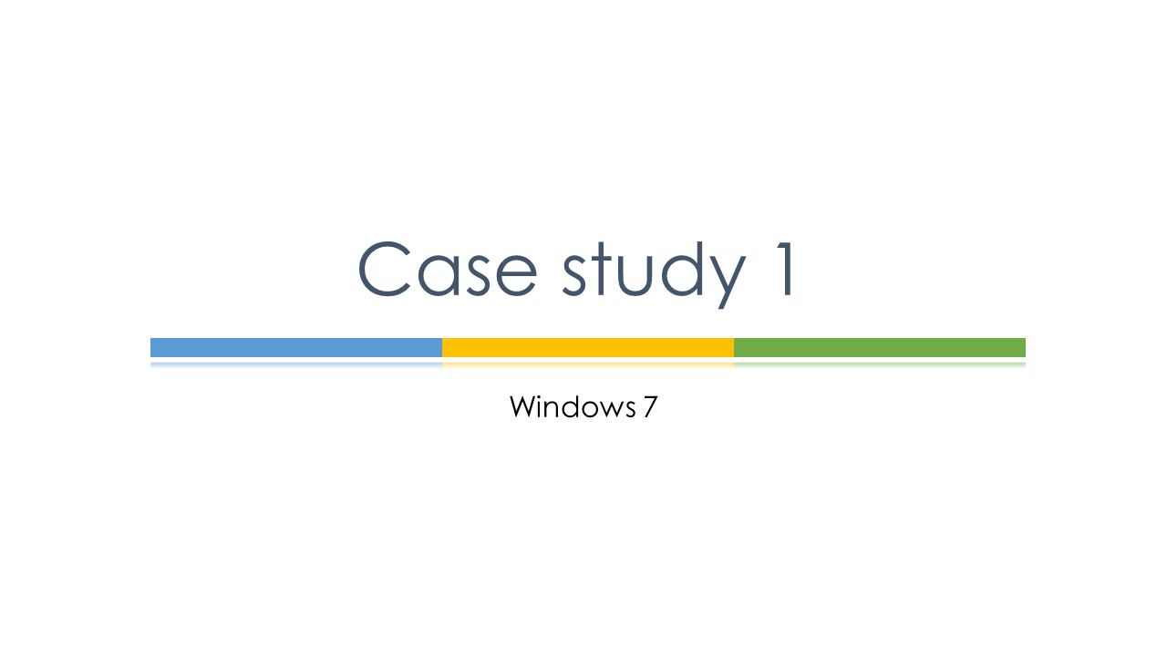case study 1 bi232 How to do a case study many fields require their own form of case study, but they are most widely used in academic and business contexts an academic case study focuses on an individual or a small group, producing a detailed but.
