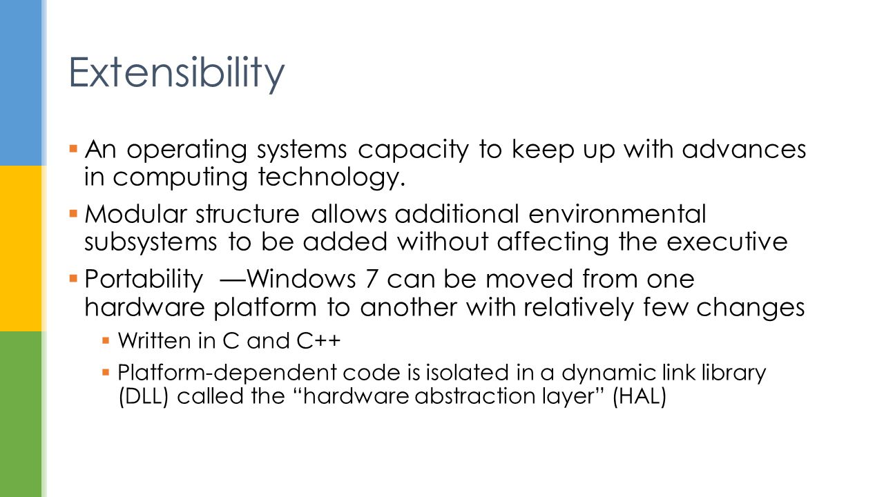 advances in operating systems Operating systems can be divided into five kinds according to the style and direction of their development, independent of their structure os's take about 5-7 years to develop focus on life-cycle of os development, with the running example of the pilot os developed at ibm.