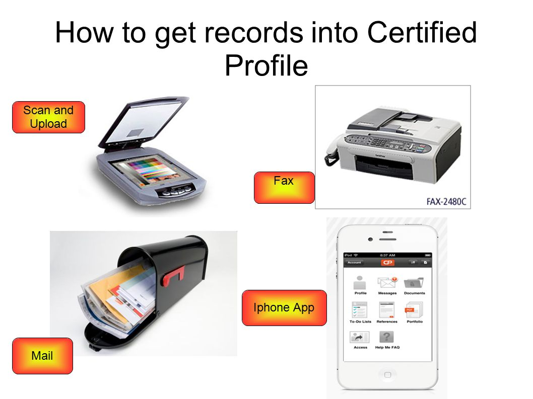 How to get records into Certified Profile