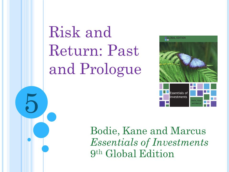 risk and return past and prologue