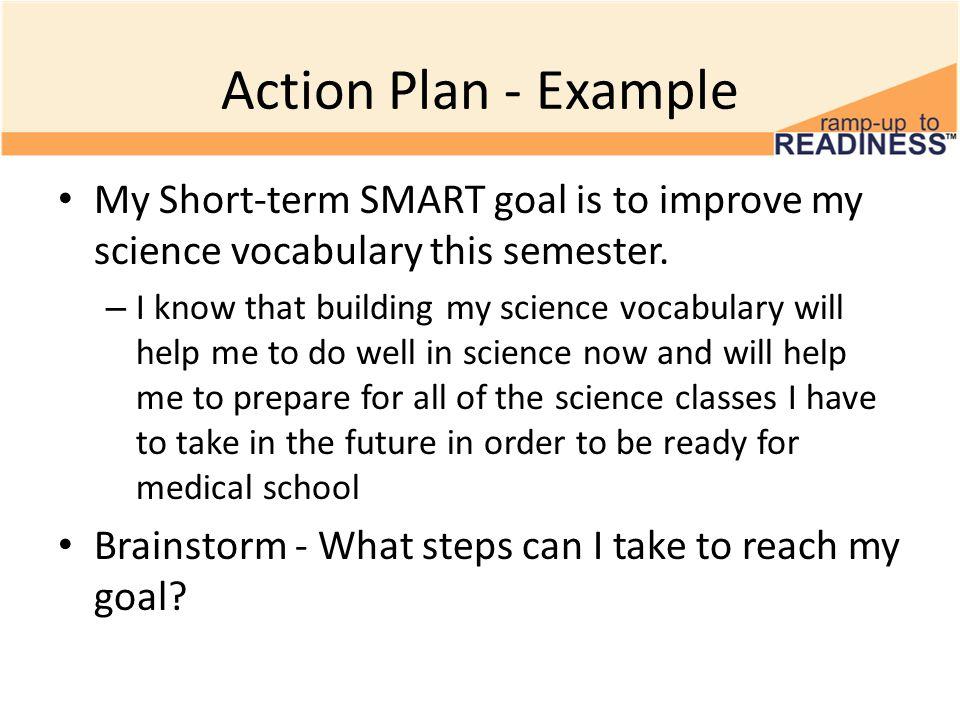 Smarter goals 6th grade smart goals microsoft ppt download 9 action plan example pronofoot35fo Choice Image