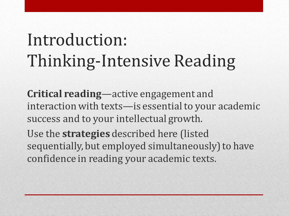 Reading Strategies For ACTIVE reading. - ppt video online ...