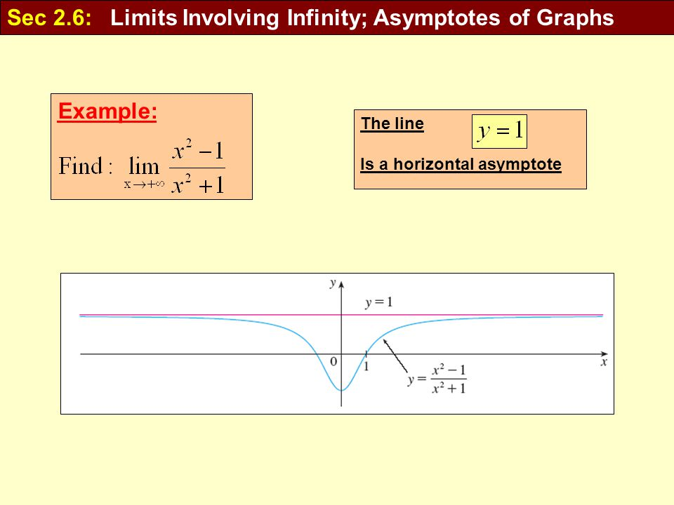 how to find horizontal asymptotes of limits
