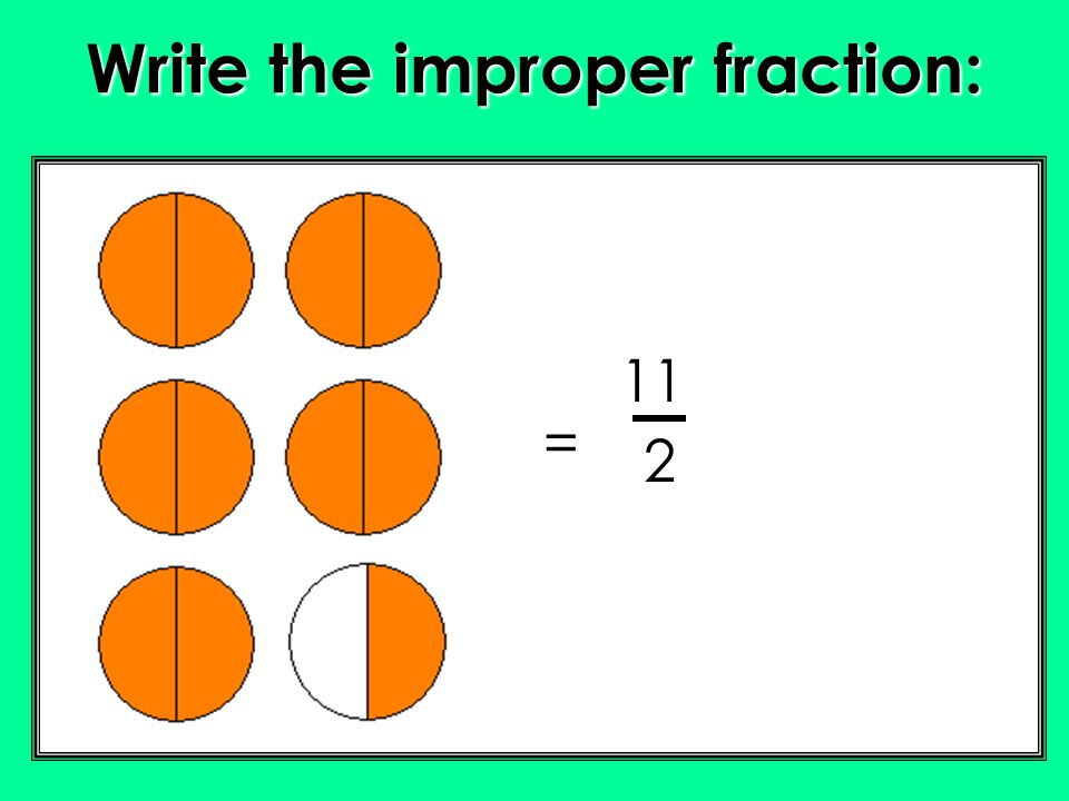 how to turn an improper fraction to a mixed fraction