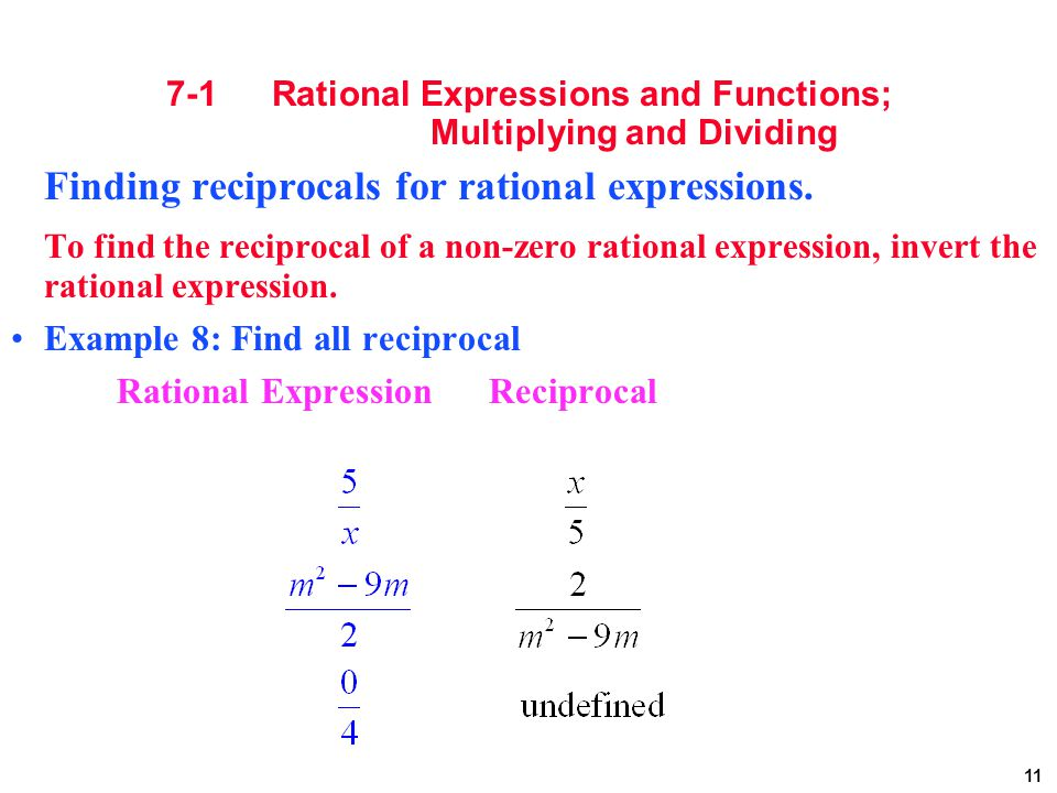 rational expressions Rational expressions - simplify how to simplify rational expressions common mistakes factor the numerator and denominator ex determine what makes the problem.