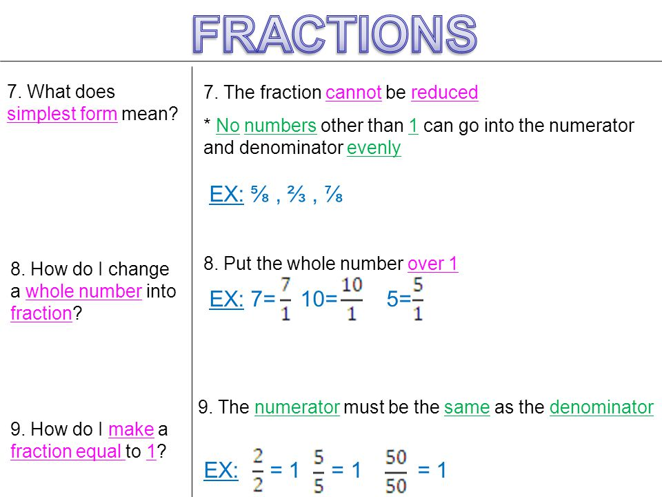 Fractions Review . - ppt video online download