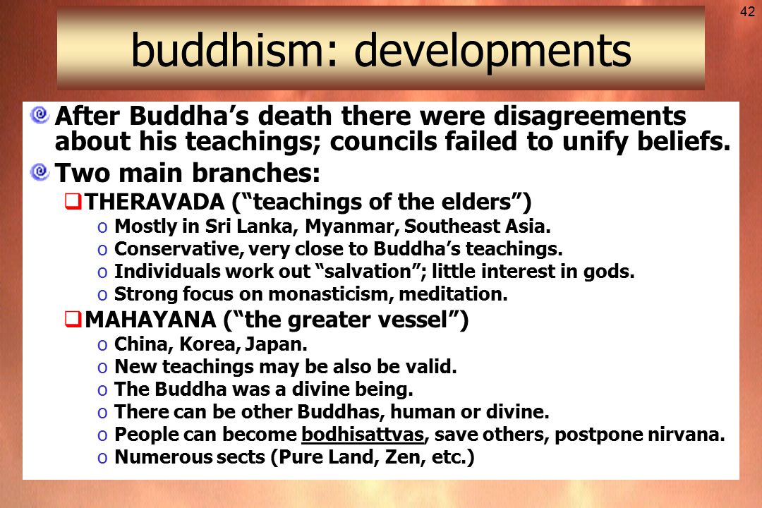 an analysis of the beliefs and developments in buddhism The regulation consists of 14 articles entirely designed to control the core belief system of tibetan buddhism the regulation asserted control of the searches, testing, recognition, education, and training of religious figures.