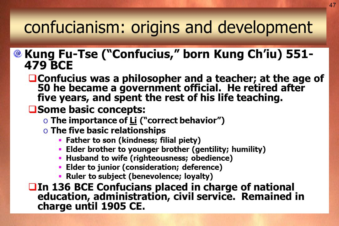 father to son relationship confucianism and taoism