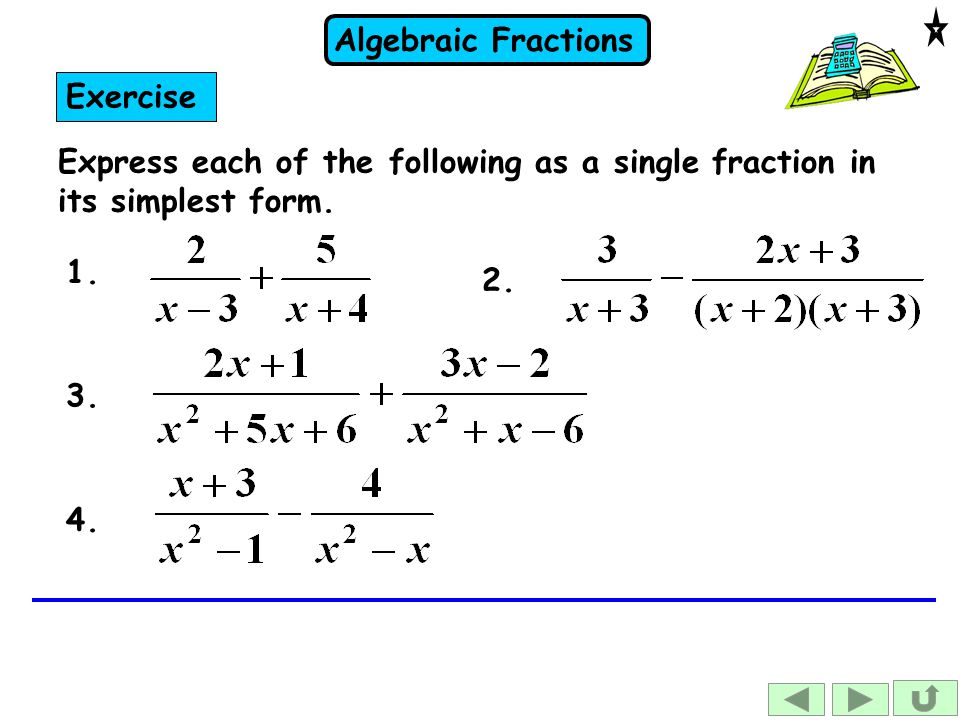 how to find the simplest form of a fraction