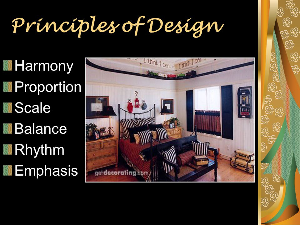 Principles Of Design Harmony : Introduction to interior design ppt download