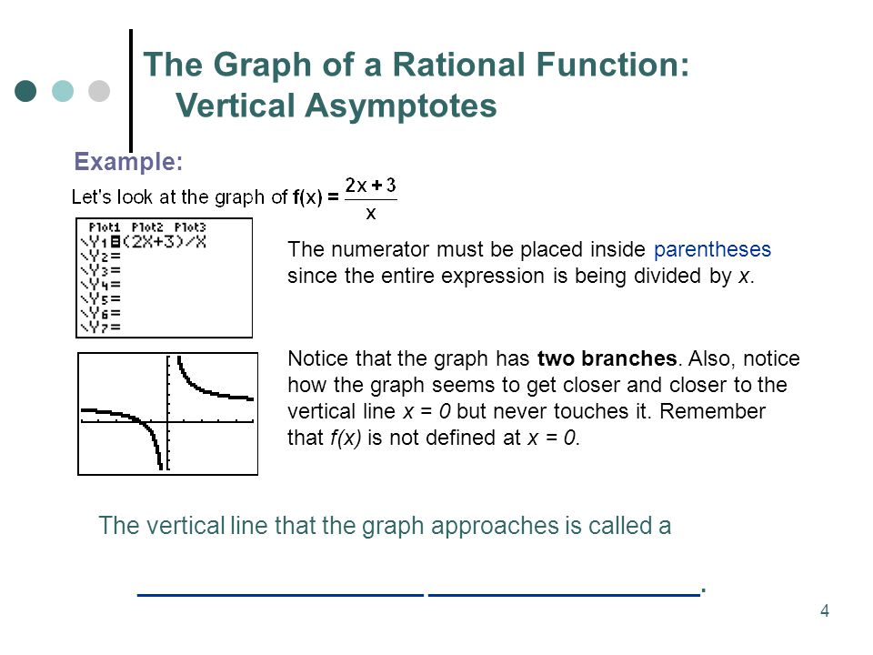 52 rational functions and asymptotes ppt download