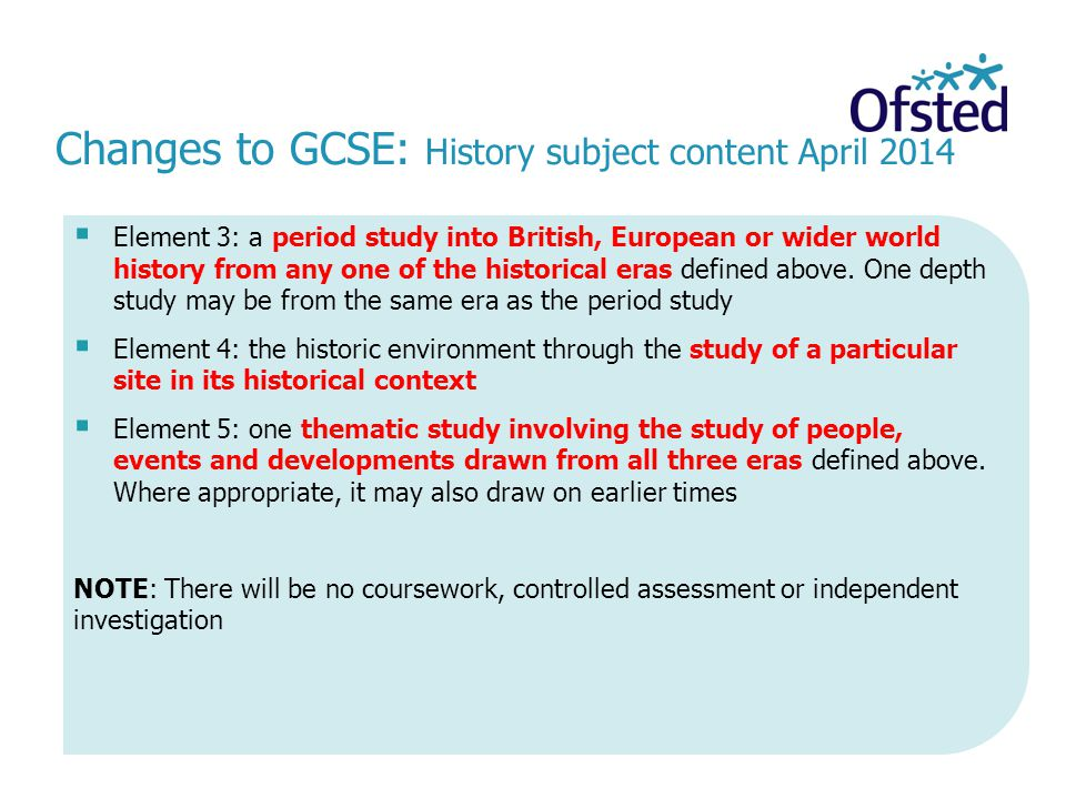 ocr as history coursework