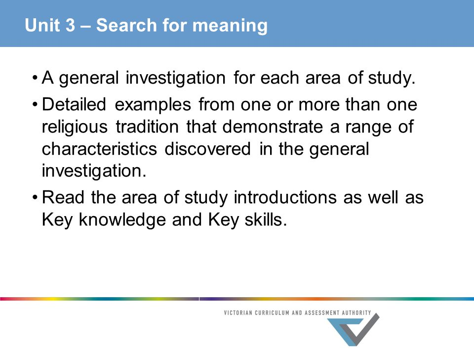 Meaning of study well message
