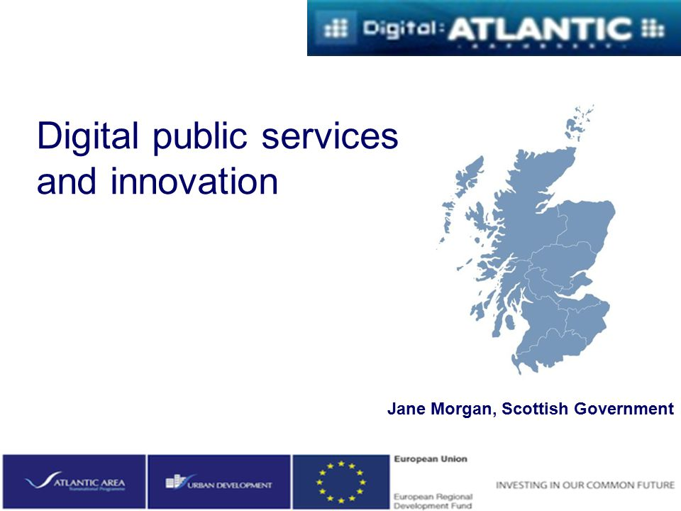 Digital public services and innovation
