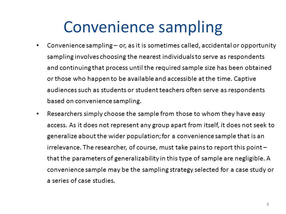 Sampling (Part III) Dr Ayaz Afsar. - ppt download