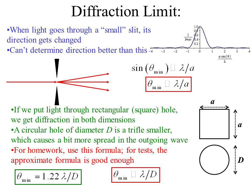 Interference and Diffraction - ppt video online download