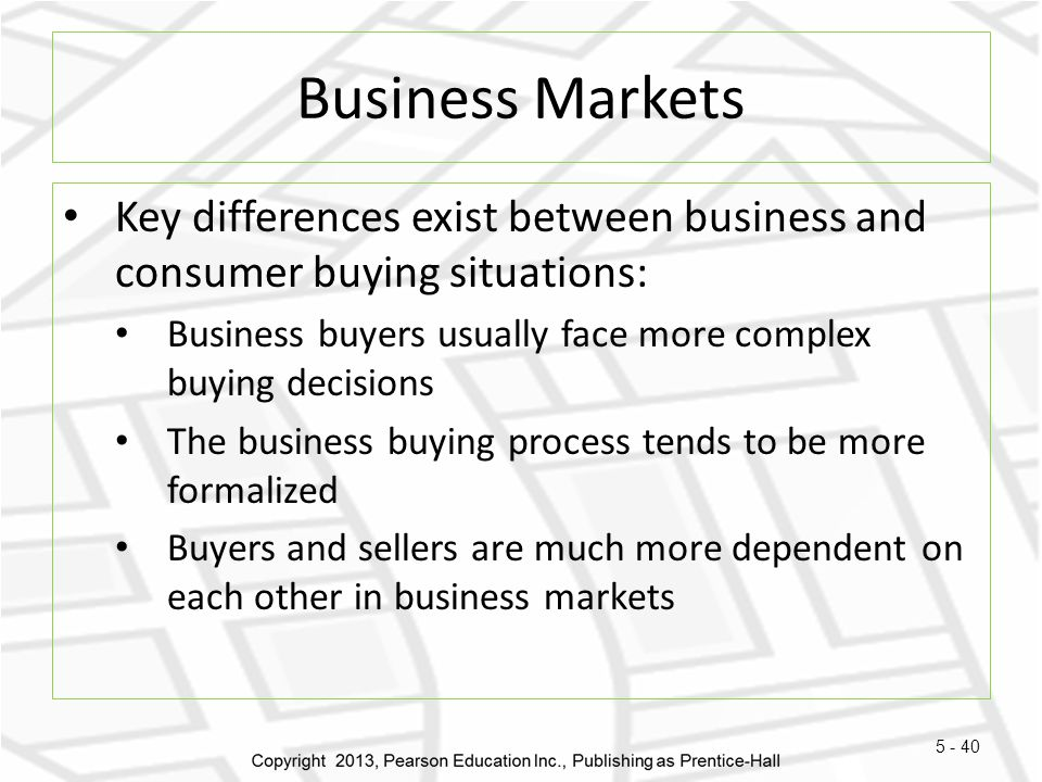 differences between the consumer market and business In order to understand the correlation between consumer rights and business may be the difference between the marketing, adherence to basic business.